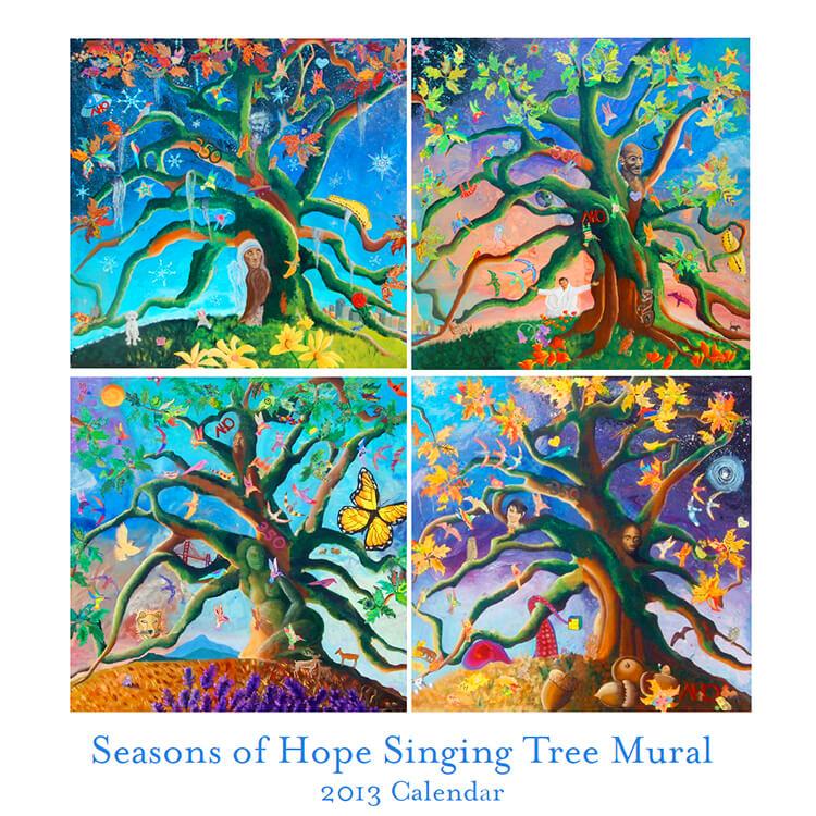 Singing Tree Mural Calendar