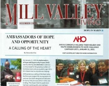 mill valley living - AHO in the Press